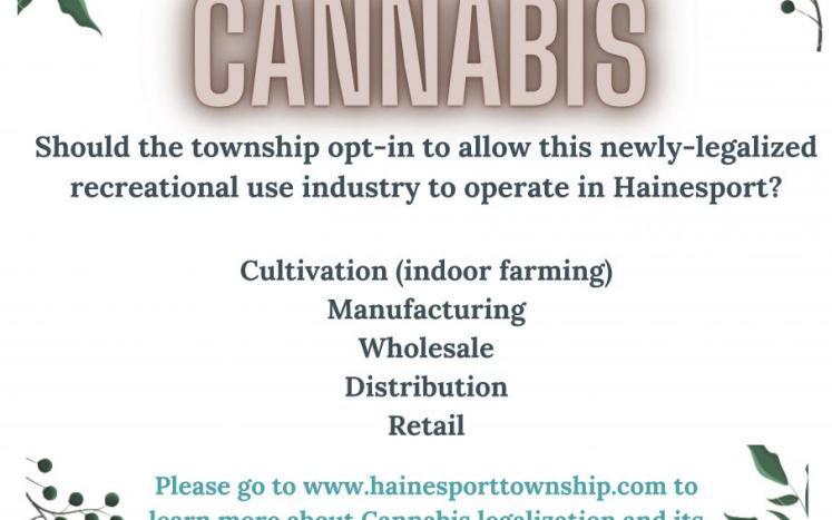 Cannabis Poster June